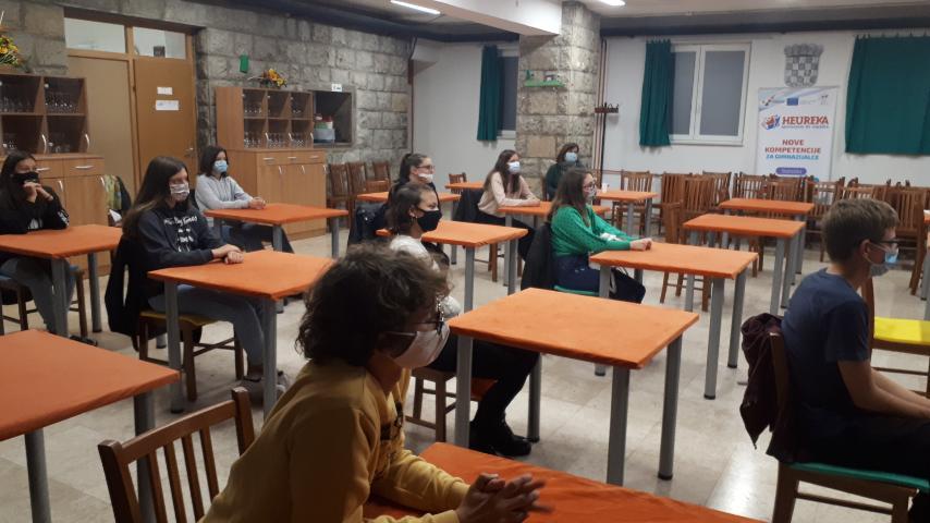 """Projektom """"Dani karijera"""" zaokružene aktivnosti za labinske osnovnoškolce"""
