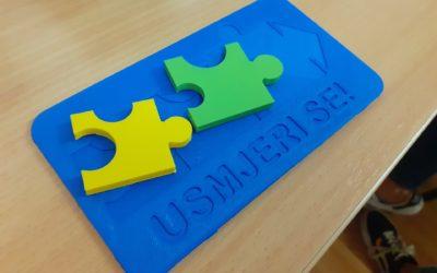 """Prezentirane izvannastavne aktivnosti osnovnoškolaca u sklopu EU projekta """"Usmjeri se"""""""
